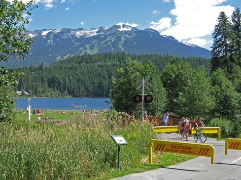 Cycling in Whistler Canada
