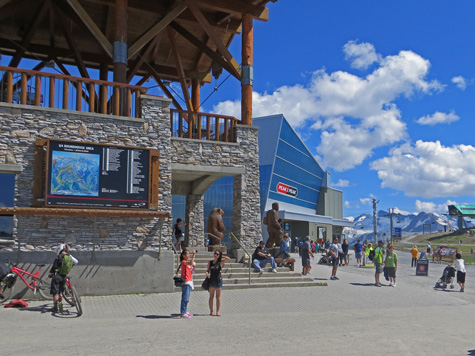 Roundhouse at the Whistler Ski Resort