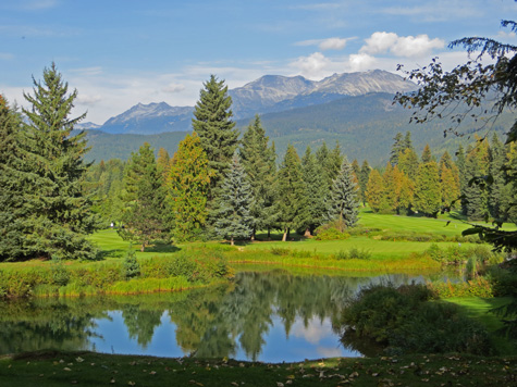 Whistler Golf Course, British Columbia